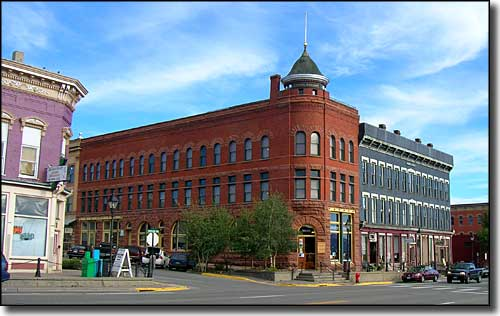 Victorian architecture in downtown Leadville