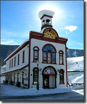 The old Crested Butte City Hall