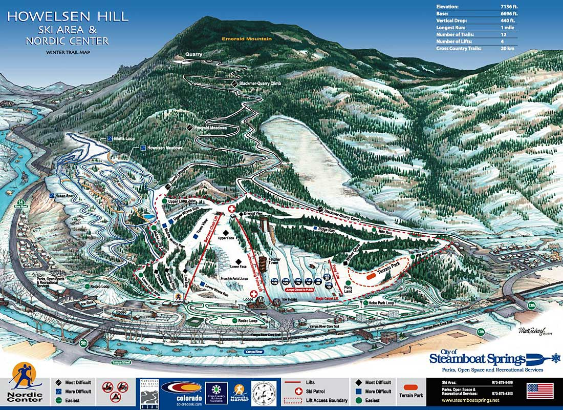 Howelsen Hill Ski Area Colorado Ski And Snowboard Areas
