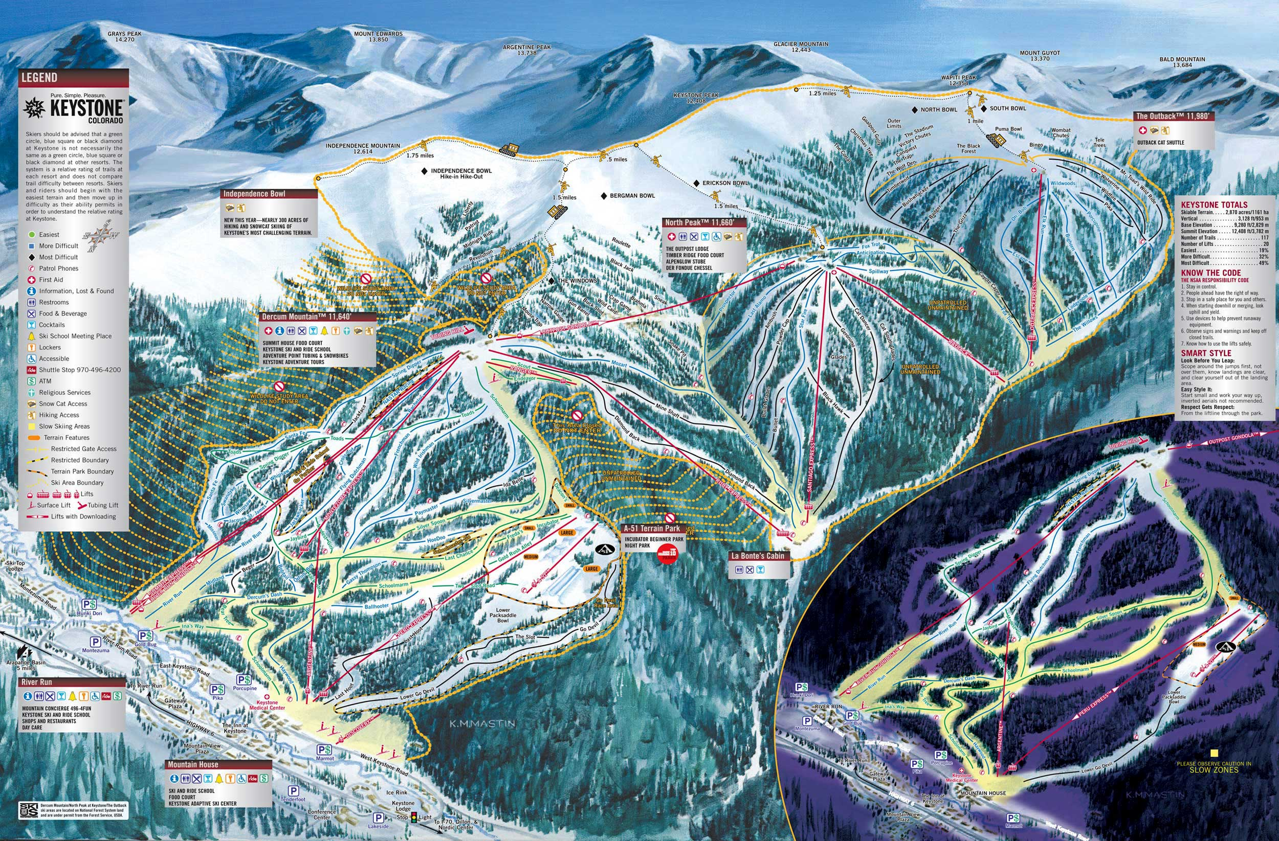 Keystone Ski Resort Colorado Ski And Snowboard Areas
