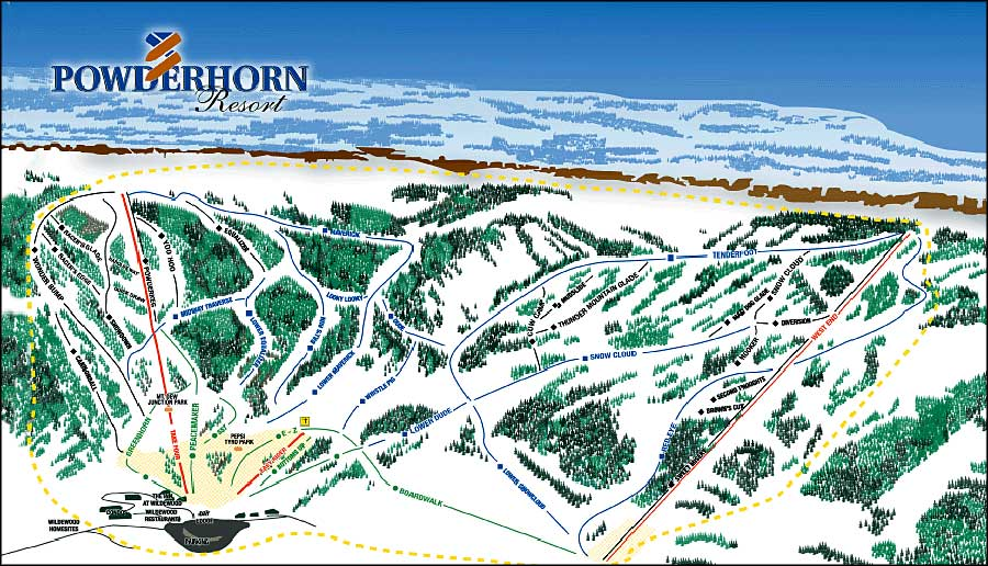 Powderhorn Resort Colorado Ski And Snowboard Areas