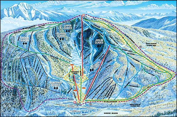 Sunlight Mountain Resort Colorado Ski And Snowboard Areas