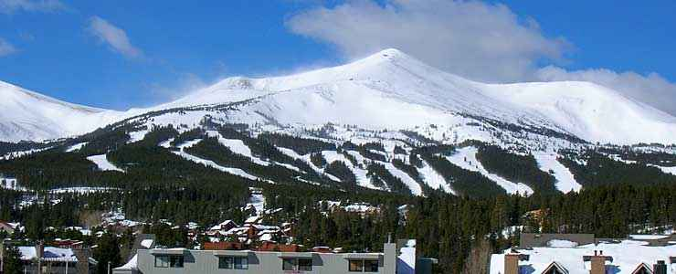 Slopes at Breckenridge Ski Resort