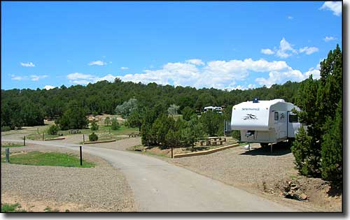 Carpios Ridge Campground, Trinidad Lake State Park