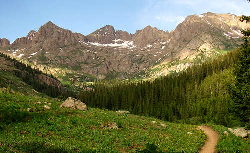 A view in South San Juan Wilderness