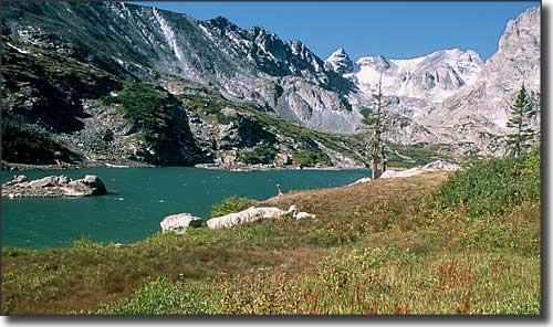 Lake Isabel in the Indian Peaks Wilderness