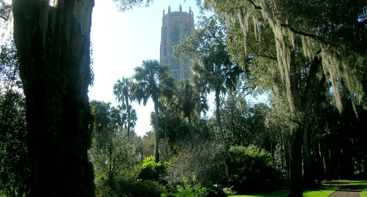 Bok tower, along The Ridge Scenic Byway in Florida