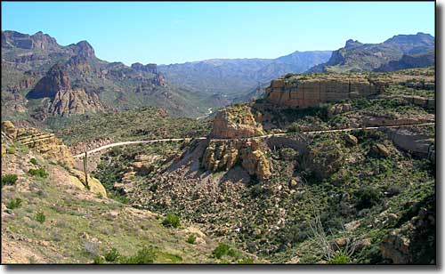Fish Creek Hill, The Apache Trail Historic Byway, Arizona