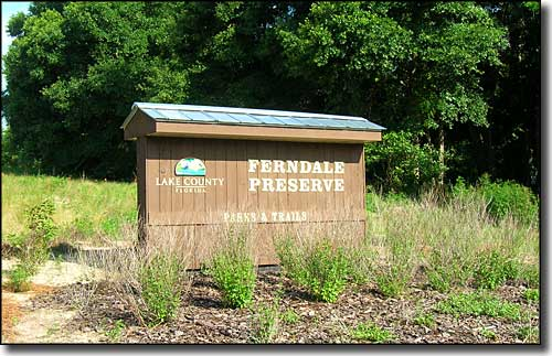 Ferndale Preserve: a Lake County Nature Preserve