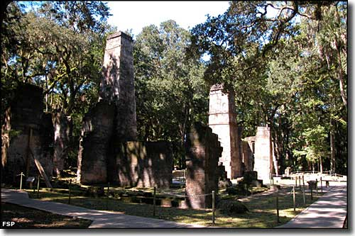 Another view of the sugar mill ruins at Bulow Plantation Ruins Historic State Park