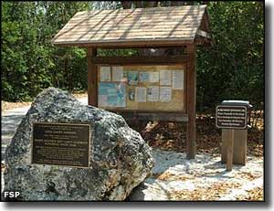 plaque and information kiosk at the dagny johnson key largo hammock botanical state park trailhead dagny johnson key largo hammock botanical state park   florida      rh   thearmchairexplorer