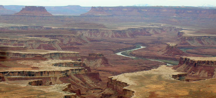 5 million years of erosion on the Colorado Plateau