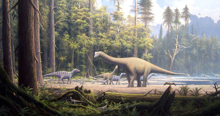 Possible Mesozoic Era scene