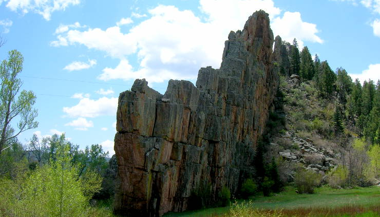 The paleogene period the sights and sites of america the dakota wall in stonewall colorado sciox Choice Image