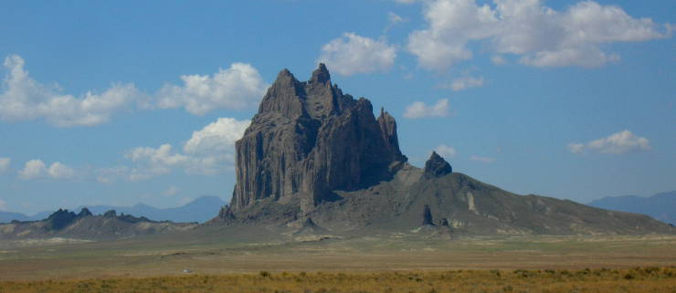 The Navajo Sacred Mountain Shiprock
