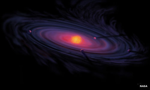 A protoplanetary disk