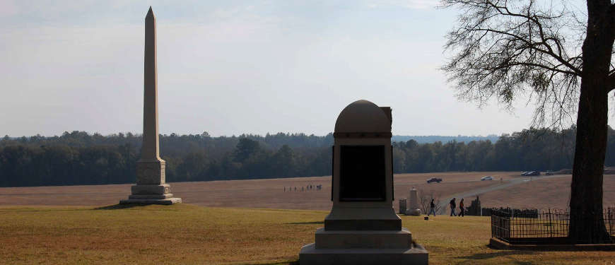 Monuments at Andersonville National Historic Site