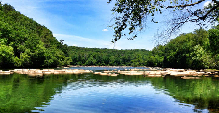 East Palisades in the Chattahoochee River National Recreation Area