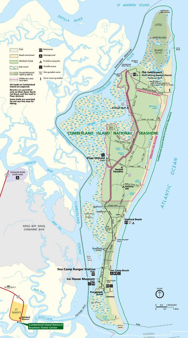Cumberland Island National Seashore National Park