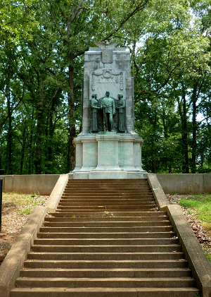 The Illinois Monument at Kennesaw Mountain National Battlefield Park