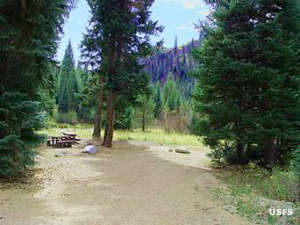 Boiling Springs Campground, Boise National Forest