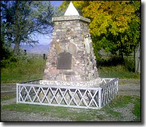 Bear River Massacre Monument
