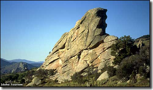 My Private Idaho Rock, City of Rocks National Reserve