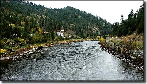 Clearwater River near Greer