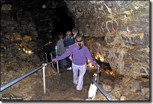 Minnetonka Cave, along the Bear Lake-Oregon Trail Scenic Byway