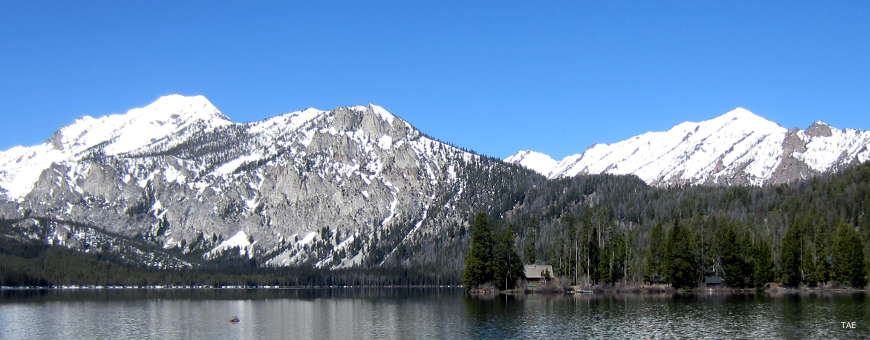 Sawtooth Wilderness from the Sawtooth Scenic Byway