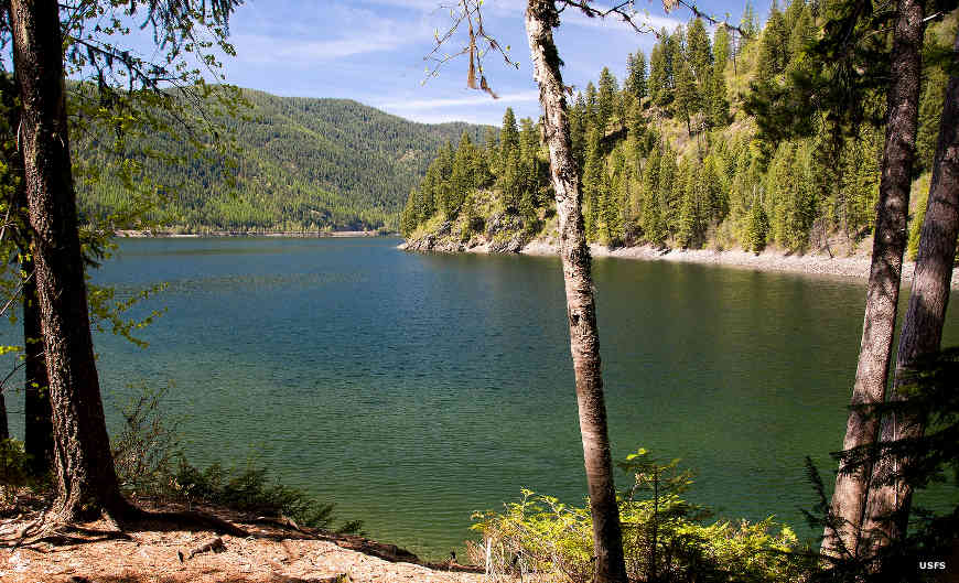 Sullivan Lake, North Pend Oreille Scenic Byway