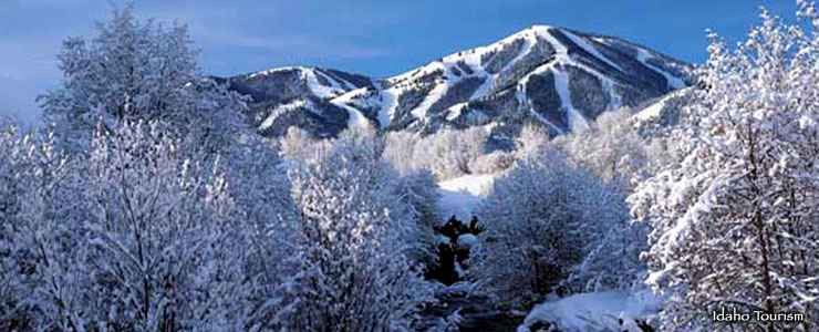 Bald Mountain at Sun Valley Resort
