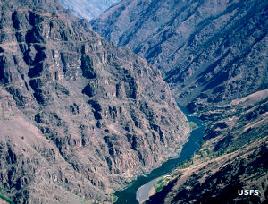 In Hells Canyon Wilderness