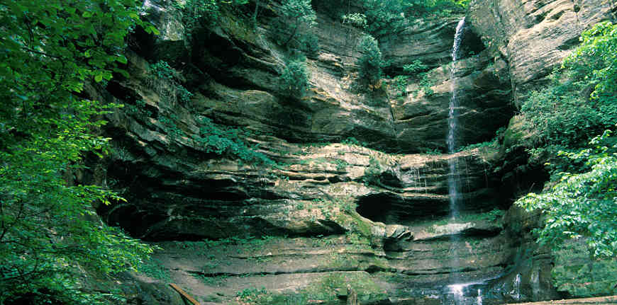 French Canyon Falls, along the Illinois River Road