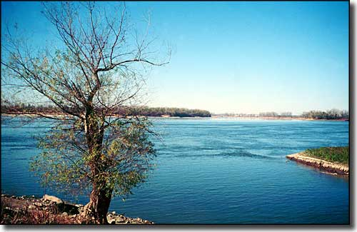 Confluence of the Mississippi and Missouri Rivers
