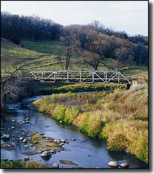 Waterman Creek on the Old O'Brien Glacial Trail Scenic Byway