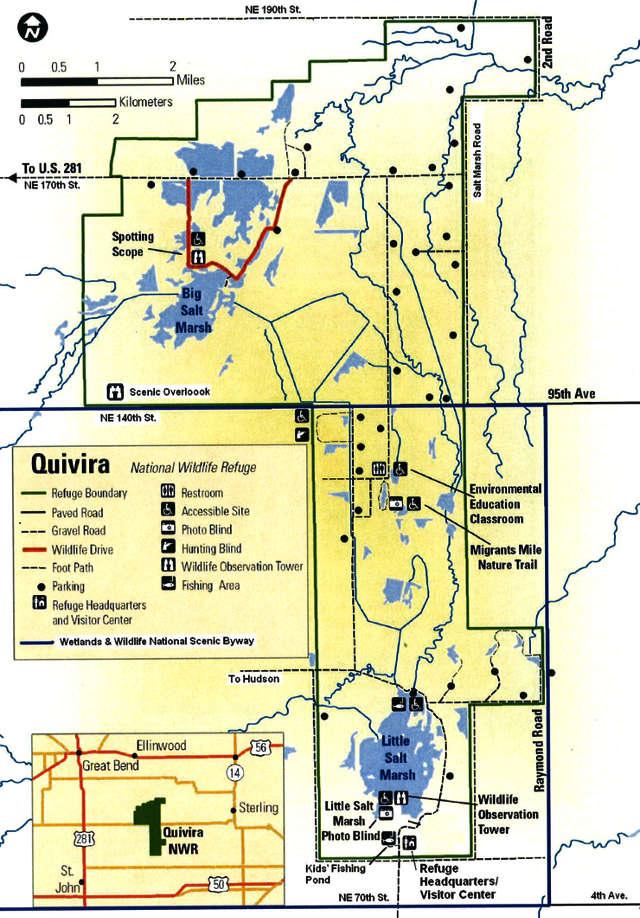 Quivira national wildlife refuge national wildlife refuges for Kansas fish and wildlife