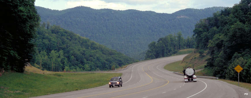 The Country Music Highway near Pikeville