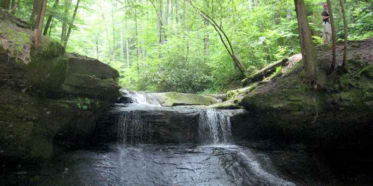 Creation Falls, Red River Gorge in Clifty Wilderness