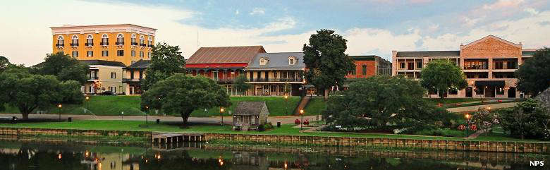 A view of historic Natchitoches, Louisiana