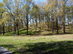 Mound A at Poverty Point National Monument