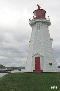 Mulholland Point Lighthouse at Roosevelt Campobello International Park