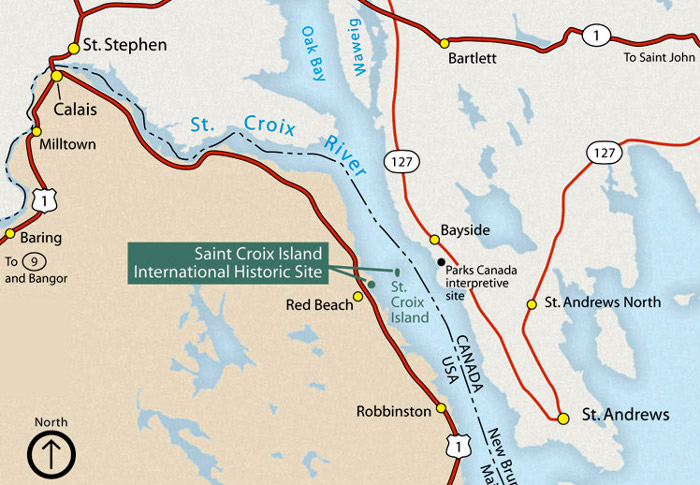 St Croix Island International Historic Site Maine National Park
