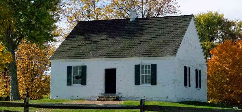 Dunker Church at Antietam National Battlefield