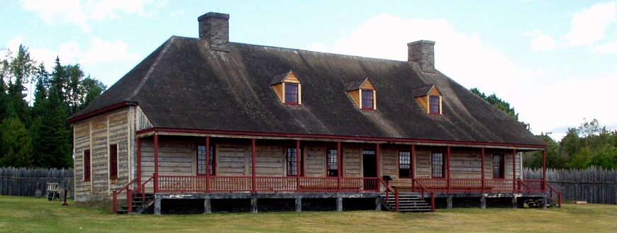 The Great House at Grand Portage National Monument