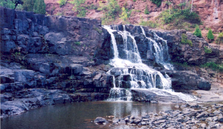 A view of Gooseberry Falls