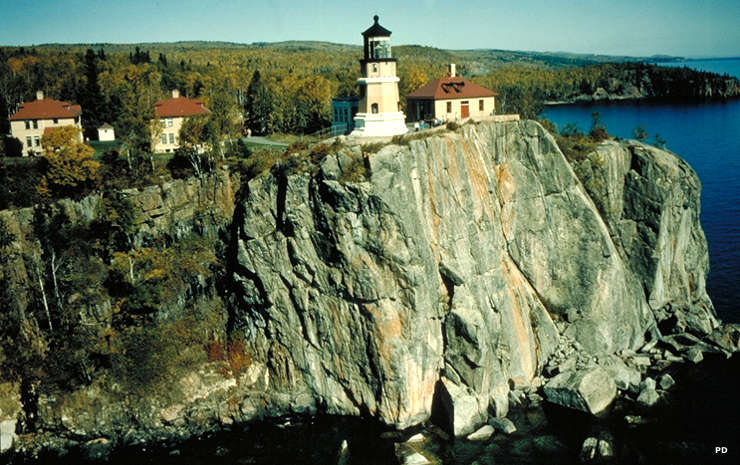 A view of Split Rock Lighthouse