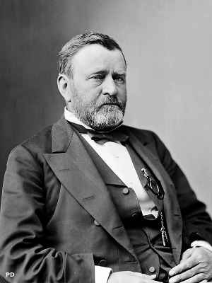 The most famous photo of Ulysses S. Grant