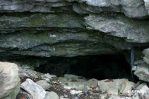 The opening to Turnback Cave