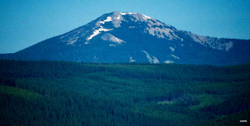 Mt. Henry on Kootenai National Forest